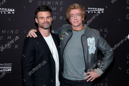 Daniel Gilles and Rhys Darby