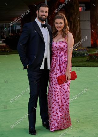 Jacob Andreou and Carly Steel