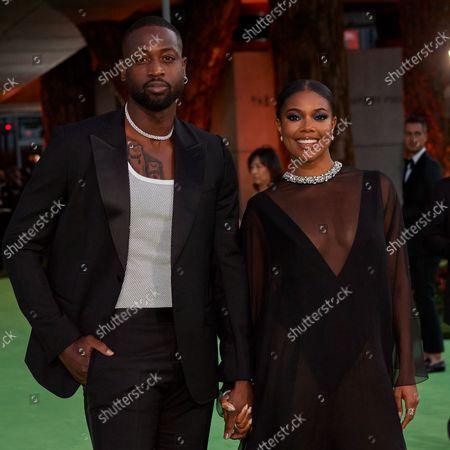 Dwyane Wade and Gabrielle Union