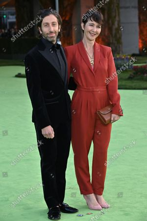 Stock Image of Simon Helberg and Jocelyn Towne