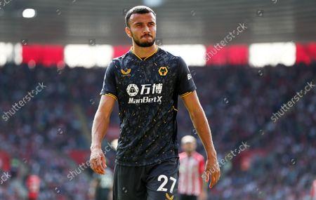 Romain Saiss of Wolverhampton Wanderers.