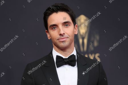 Stock Photo of Paul W. Downs arrives at the 73rd Emmy Awards at the JW Marriott on at L.A. LIVE in Los Angeles