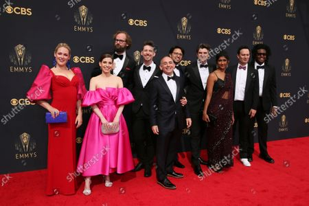 Editorial photo of 73rd Emmy Awards - Red Carpet Arrivals, Los Angeles, United States - 19 Sep 2021
