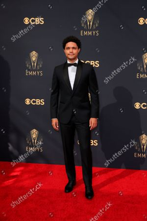Stock Image of Trevor Noah arrives at the 73rd Emmy Awards at the JW Marriott on at L.A. LIVE in Los Angeles