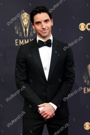 Paul W. Downs arrives at the 73rd Emmy Awards at the JW Marriott on at L.A. LIVE in Los Angeles