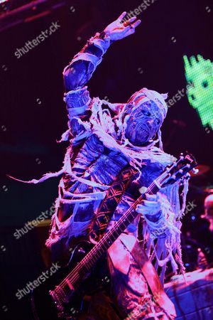 Editorial image of Lordi in concert, Moscow, Russia - 07 Nov 2010
