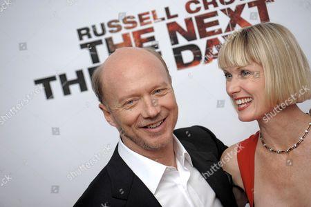 Stock Image of Paul Haggis and Deborah Rennard