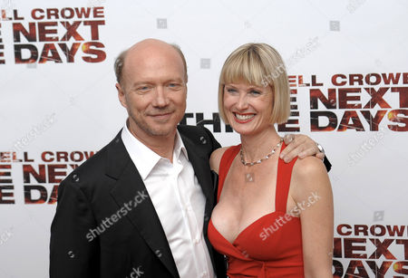 Stock Picture of Paul Haggis and Deborah Rennard