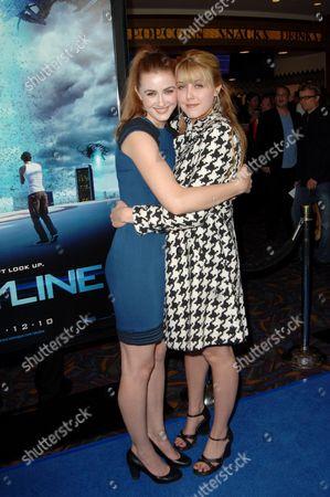Madeline Zima and sister Yvonne Zima