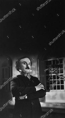 Editorial photo of portrait of actor Norman George, Boston, Massachusetts, USA