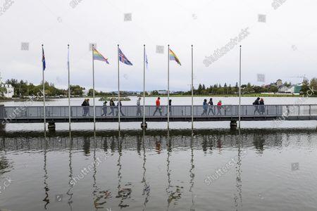 Editorial image of Election, Reykjavik, Iceland - 25 Sep 2021