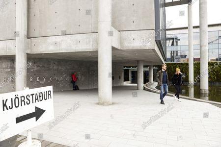 Editorial photo of Election, Reykjavik, Iceland - 25 Sep 2021