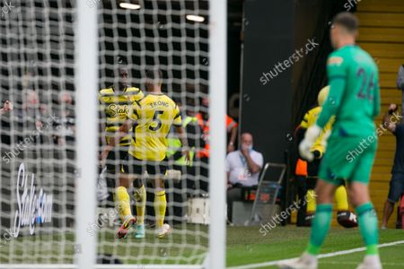 Editorial picture of Watford v Newcastle United - Premier League, United Kingdom - 25 Sep 2021
