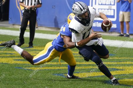 Editorial picture of New Hampshire Football, Pittsburgh, United States - 25 Sep 2021