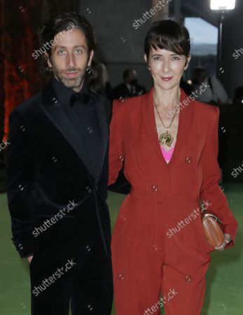 Simon Helberg and Jocelyn Towne
