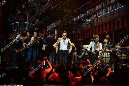 Marc Anthony performs on stage