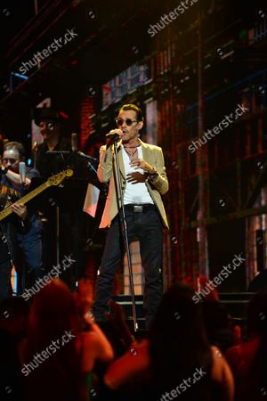 Stock Picture of Marc Anthony performs on stage