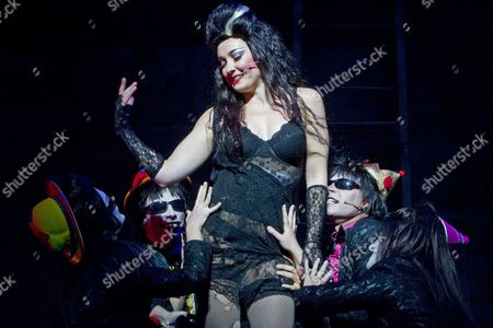 Editorial photo of 'Rocky Horror Show' musical at the Civic Theatre, Auckland, New Zealand - 09 Nov 2010