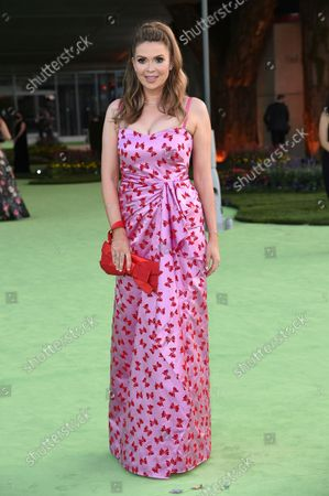 Carly Steel arrives at the Academy Museum of Motion Pictures Gala, in Los Angeles
