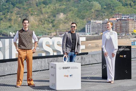 (L-R) Alvaro Mel, Alejandro Amenabar, and Ana Polvorosa