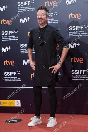 David Valdeperas attends the red carpet of the closing gala of the 69th San Sebastian Film Festival./ Coolmedia. Yurena Paniagua. San Sebastian. Spain