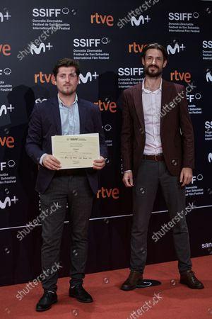 Red carpet of the closing gala of the 69th San Sebastian Film Festival in San Sebastian, Spain on September 25, 2021.