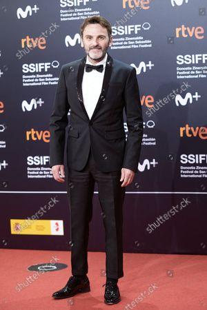 Fernando Tejero attends the red carpet of the closing gala of the 69th San Sebastian Film Festival./ Coolmedia. Yurena Paniagua. San Sebastian. Spain