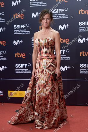 Stock Picture of Marta Etura attends the red carpet of the closing gala of the 69th San Sebastian Film Festival in San Sebastian, Spain on September 25, 2021.