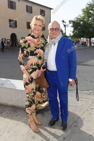 Rolf Sachs with Freundin Prinzessin Mafalda von Hessen/Wedding of Princess Marie-Astrid von und zu Liechtenstein with Ralph (Rafe) Worthington