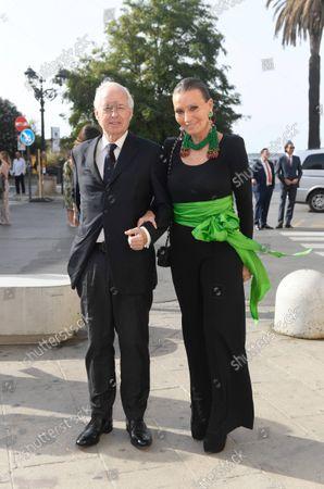 Prinz Philipp von und zu Liechtenstein mit Frau Prinzessin Isabella/Wedding of Princess Marie-Astrid von und zu Liechtenstein with Ralph (Rafe) Worthington