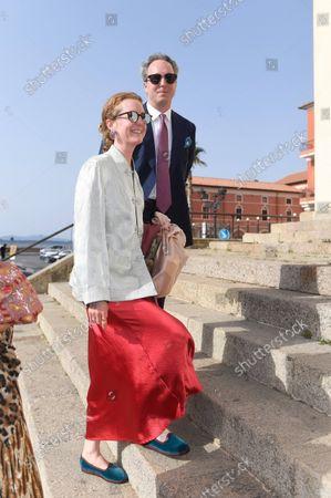 Olivia Schuler-Voith with Philipp Albert/Wedding of Princess Marie-Astrid von und zu Liechtenstein with Ralph (Rafe) Worthington