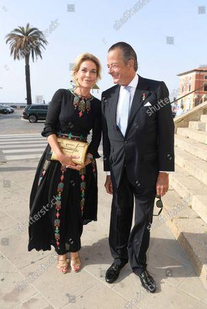 Fÿrst Hugo zu Windisch - Graetz mit Frau Fÿrstin Sophie/Wedding of Princess Marie-Astrid von und zu Liechtenstein with Ralph (Rafe) Worthington