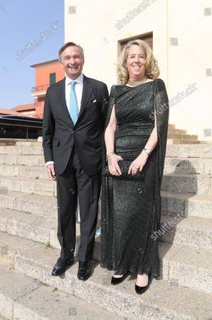 Erzherzog Peter von Habsburg - Zsterreich mit Frau Erzherzogin Alexandra/Wedding of Princess Marie-Astrid von und zu Liechtenstein with Ralph (Rafe) Worthington