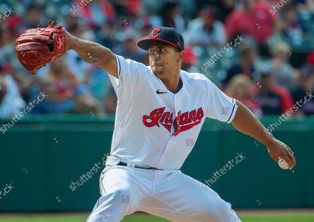 Editorial photo of White Sox Indians Baseball, Cleveland, United States - 26 Sep 2021