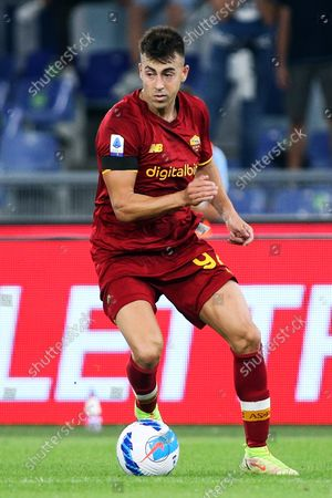Stephan El Shaarawy of Roma in action