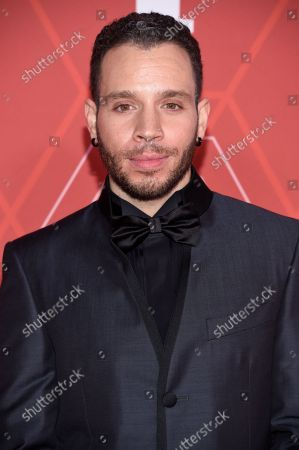 Robin de Jesus arrives at the 74th annual Tony Awards at Winter Garden Theatre, in New York