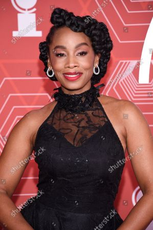 Editorial photo of 74th Annual Tony Awards, New York, United States - 26 Sep 2021