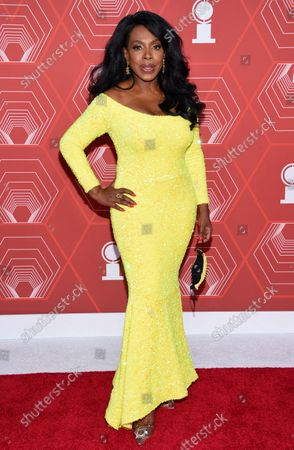 Stock Image of Sheryl Lee Ralph arrives at the 74th annual Tony Awards at Winter Garden Theatre, in New York