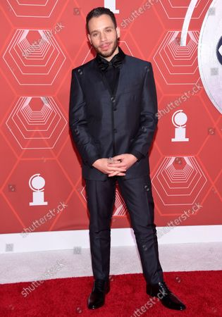 Stock Image of Robin de Jesus arrives at the 74th annual Tony Awards at Winter Garden Theatre, in New York
