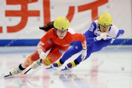 Editorial photo of The 32nd All Japan Single Distances Short Track Speed Skating Championships, Nagano, Japan - 25 Sep 2021