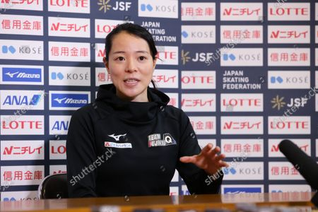 Editorial picture of The 32nd All Japan Single Distances Short Track Speed Skating Championships, Nagano, Japan - 26 Sep 2021