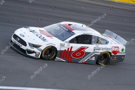 LAS VEGAS MOTOR SPEEDWAY, UNITED STATES OF AMERICA - SEPTEMBER 26: #6: Ryan Newman, Roush Fenway Racing, Ford Mustang Guaranteed Rate at Las Vegas Motor Speedway on Sunday September 26, 2021 in Las Vegas, United States of America. (Photo by LAT Images)
