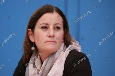 Janine Wissler, top candidate of DIE LINKE, Dietmar Bartsch, top candidate of DIE LINKE, Susanne Hennig-Wellsow, Federal Chairwoman of DIE LINKE