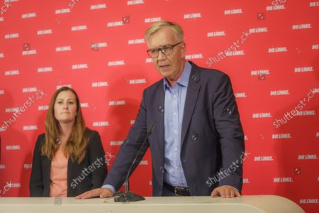 Editorial image of Election press conference, Berlin, Germany - 27 Sep 2021
