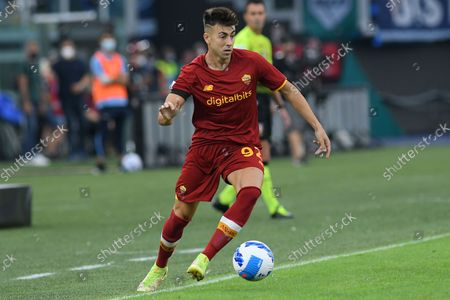 Stephan El Shaarawy of AS Roma during the Serie A match between SS Lazio v AS Roma at Olimpico stadium in Rome, Italy, September 26, 2021. Fotografo01