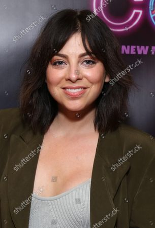 Stock Image of  Krysta Rodriguez arrives at the opening night of 'A Commercial Jingle for Regina Comet'