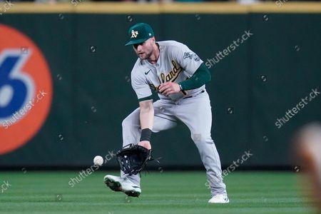 Editorial photo of Athletics Mariners Baseball, Seattle, United States - 27 Sep 2021