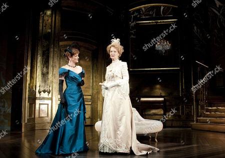 Stock Image of Samantha Bond (Mrs Cheveley), Caroline Blakiston (Lady Markby)