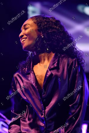Editorial photo of TLC in concert at the FPL Solar Amphitheater, Bayfront Park, Miami, Florida, USA - 27 Sep 2021