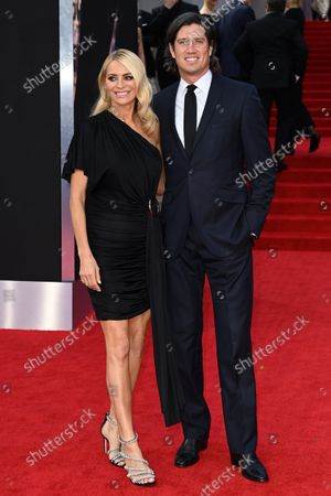 Stock Image of Tess Daly and Vernon Kay